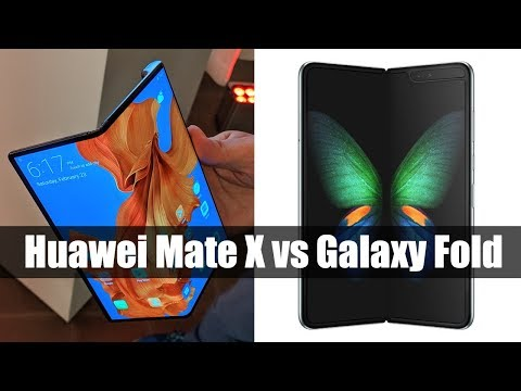 Huawei Mate X vs Samsung Galaxy Fold: How do they compare?