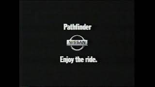 1999 Nissan Pathfinder commercial - Nature