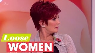 sharon tries to calm the argument   loose women