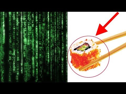 Matrix Trilogy Code Was Inspired By Sushi Recipe