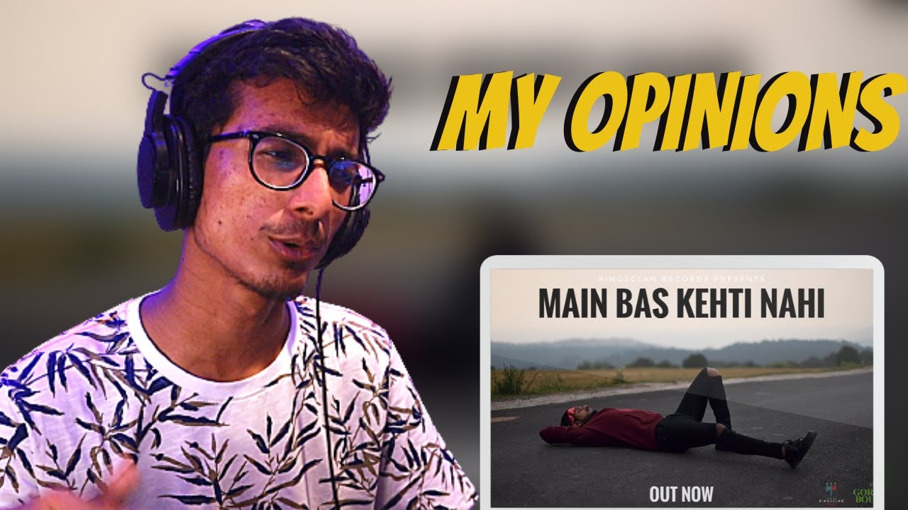 King - Main Bas Kehti Nahi | Prod by. Section 8 || Big Scratch Bisects