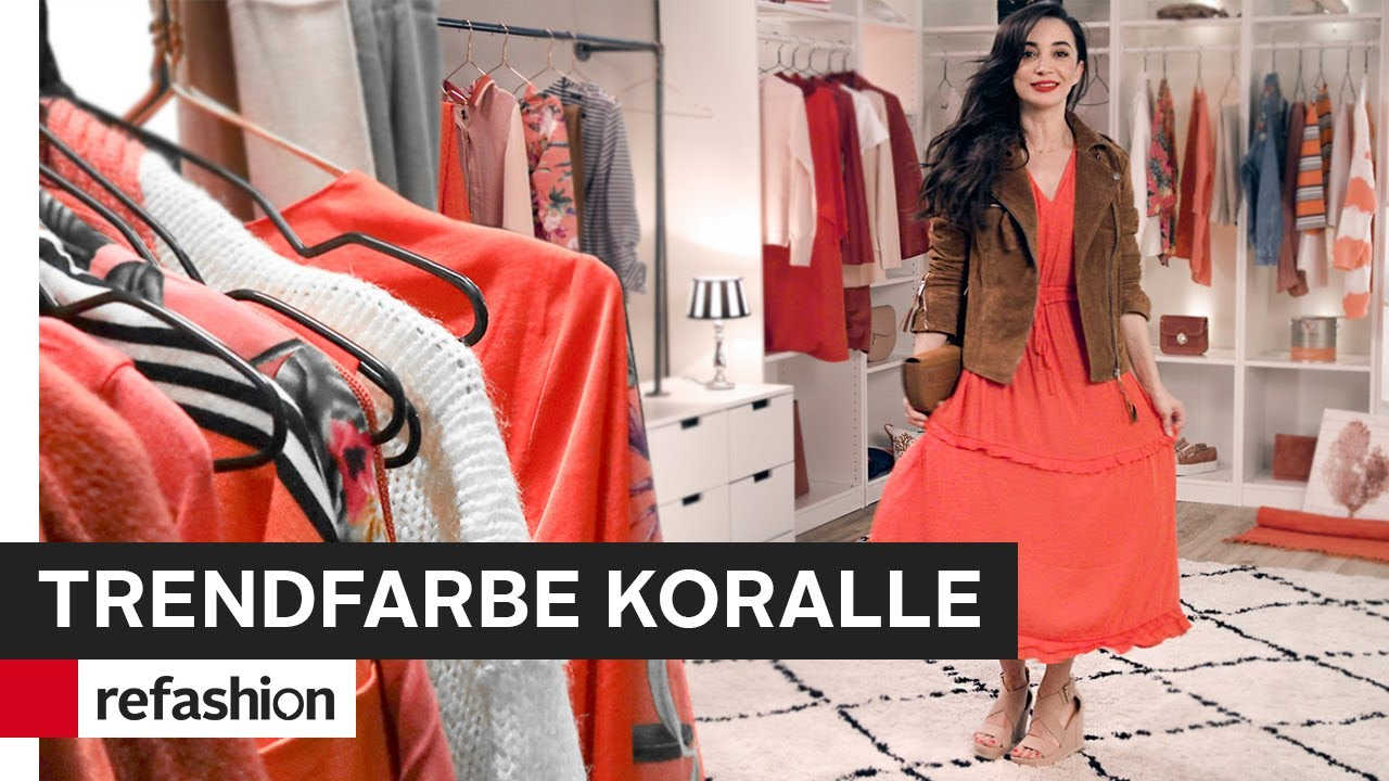 How to style: Trendfarbe Koralle im Fashion & Livingbereich ~ refashion | OTTO