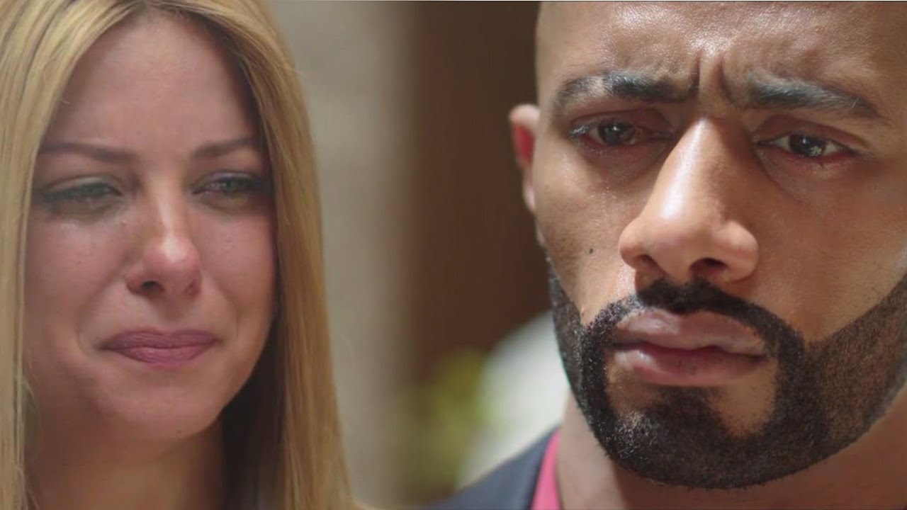 طلاق ناصر ومريم وفرحة تمارا مسلسل الاسطورة محمد رمضان