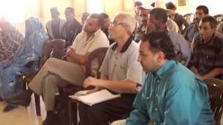 Début de la rencontre Associations et Banque Allemande de Développement - Aoulouz