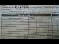 How to fill deposit slip of Bank of Baroda|| Hindi ||