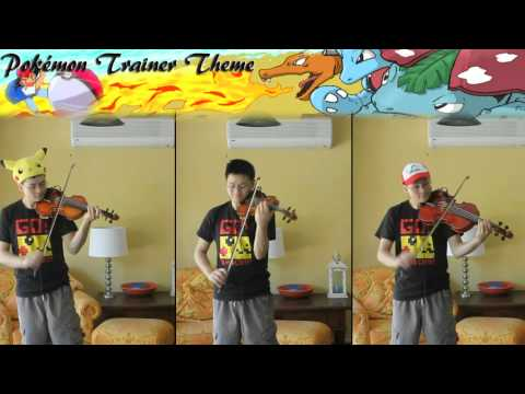 Pokémon Trainer Battle Theme R/B/Y (String Cover)