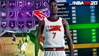 BEST STRETCH BIG BUILD IN NBA 2K20! MY NBA 2K20 DEMO BUILD... BEST OUTSIDE CENTER/POWER FORWARD