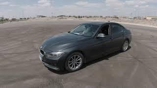 يوم درفت رائع مع الأصدقاء و التخلص من الكاوتش القديم بإستخدام البي إم دبليو توين باور تربو BMW 320i