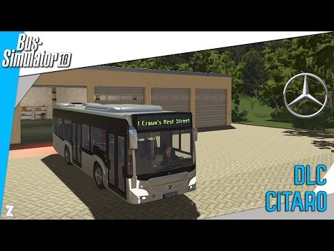 🚎Bus Simulator 16 | DLC Mercedes-Benz Citaro ! |