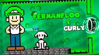 FERNANFLOO & CURLY!! Nivel de fernanfloo  #2 - Fernanfloo 2 - By:Ixxdrawingxxl - Geometry Dash 2.0