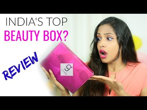 India's Top Beauty Subscription Box? Unboxing & Reviewing | ShrutiArjunAnand