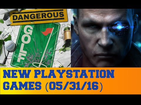 New PlayStation Games for May 31st 2016