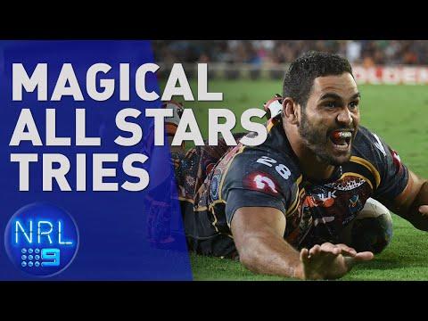 Top 5 All Stars Tries   NRL On Nine