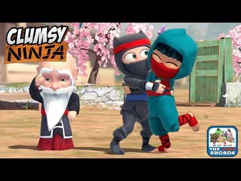 Clumsy Ninja - Lily Wants to Train and Help Find Kira Too (iOS/iPad Gameplay)