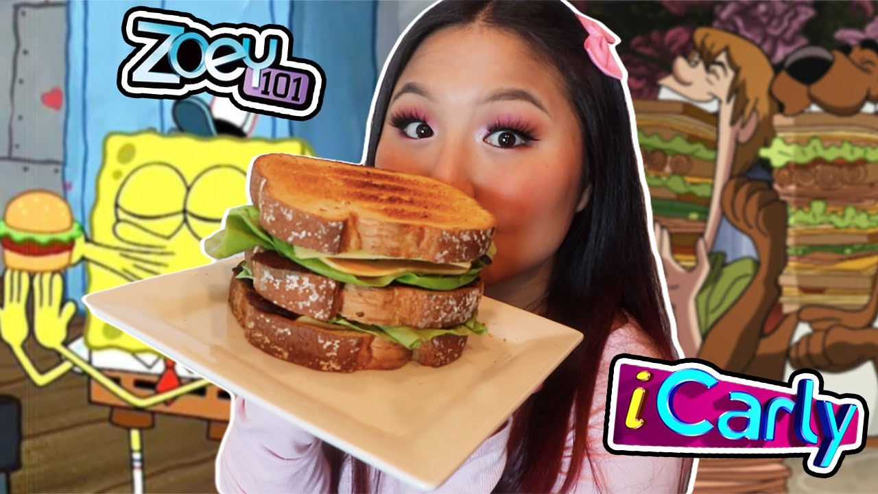 EATING FOOD FROM CHILDHOOD TV SHOWS FOR A DAY