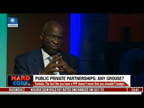 Real Conversation With Babatunde Fashola On 2017 Budget Pt 1