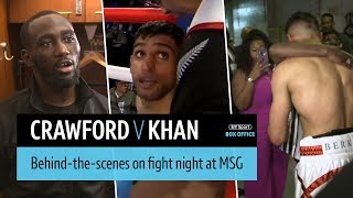 Crawford v Khan behind-the-scenes fight night episode | No Filter Boxing