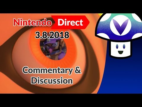 [Vinesauce] Vinny - Nintendo Direct 3.8: Commentary & Discussion