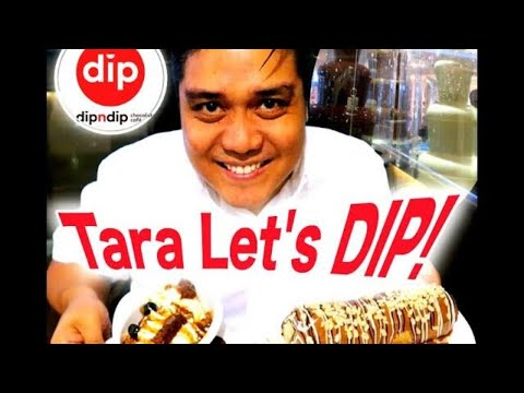 DIP N DIP CHOCOLATE HOUSE (WINNER!!!) | FOOD REVIEW | Crepe + Ice Cream | Cheat Day with Jay #11