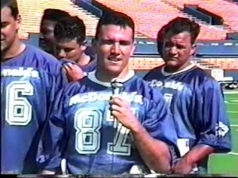 1993 OCA All State Football Game - Spiro Bulldogs