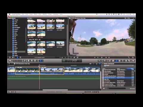 Final Cut Pro X - audio transitions with magnetic timeline