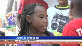 Thousands celebrate Juneteenth