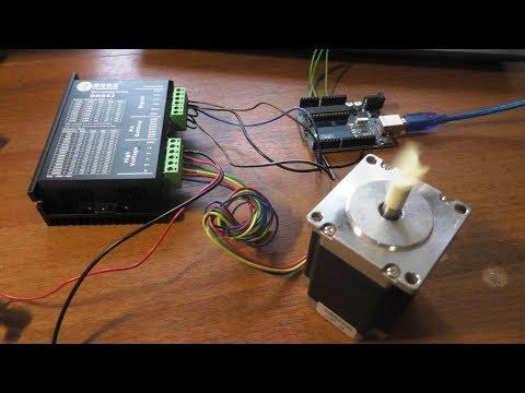 ЧПУ станок Подключение Драйвера ШД DM542 к Ардуино Уно #ЧпуСтанок