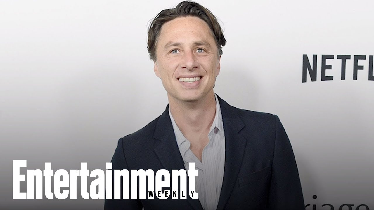 Zach Braff On Why Anne Hathaway's Dad Almost Fought Him At 'Les Mis' Premiere