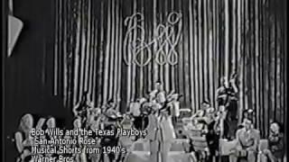 "Bob Wills ""San Antonio Rose"" Live  (circa 1940's)"