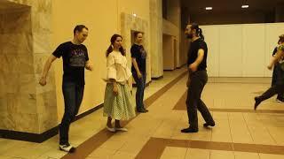 Курская кадриль (обучение -5-7 фигуры)