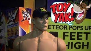 "Wicked Cool Toys WWE Product Walkthrough at New York Toy Fair 2014 - 31"" John Cena!"