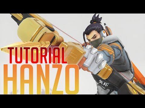 OVERWATCH - TUTORIAL HANZO EN ESPAÑOL - (41-1) 90 HORAS DE HANZO PARA HACER ESTE VIDEO