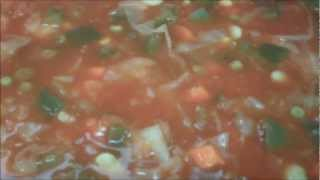 Preparing Meals-homemade Vegetable Soup-sparky's Kitchen
