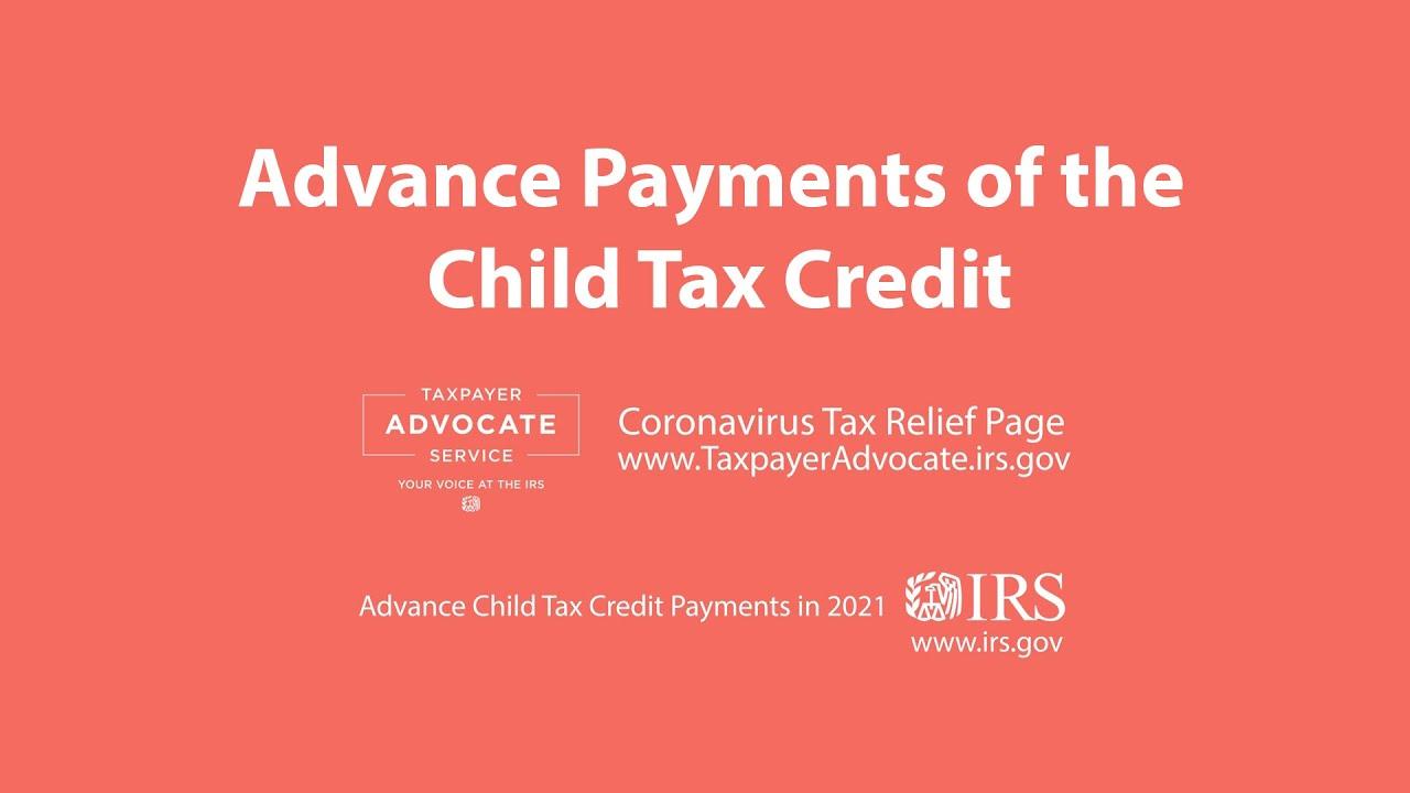 2021 Child Tax Credit Advanced Payment Option Tas