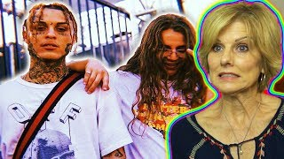 Mom Reacts To Lil Skies X Yung Pinch I Know You Official Audio
