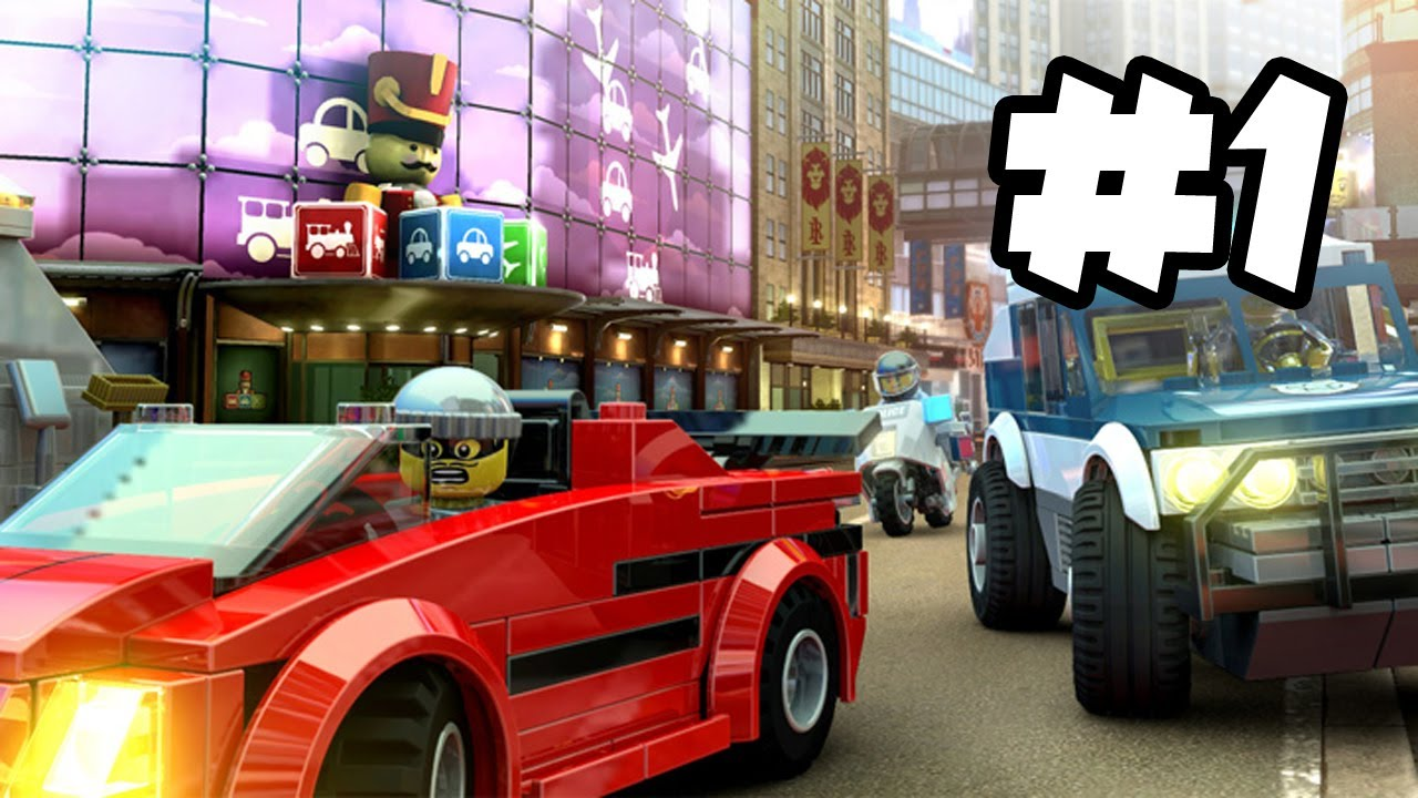 Lego City Undercover Gameplay Walkthrough Part 1 Chase Vs Rex Lego City Gameplay Wii U Hd Youtube