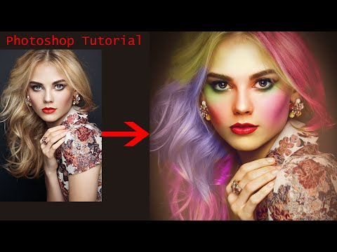 Awesome Color Correction And Color  Grading Photoshop Tutorial || New Photoshop thumbnail