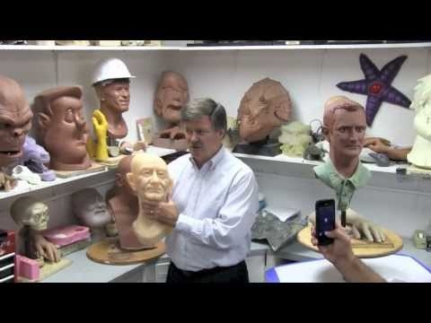 Tour of Sally Corporation, makers of dark rides, animatronics and more