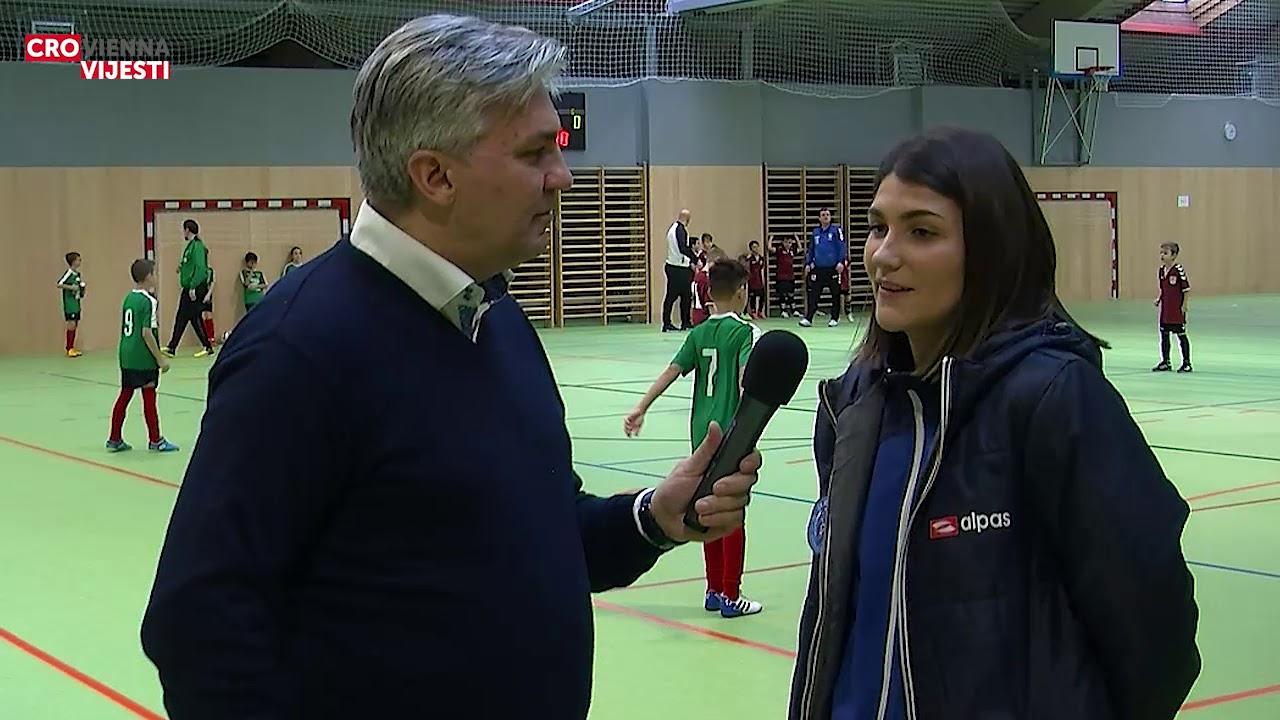 Razgovor s Damjanom Goluža, voditeljicom Ženske akademije u Školi nogometa Maksimir.