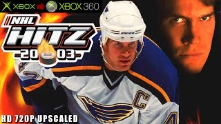 NHL Hitz 20-03 - Gameplay Xbox HD 720P (Xbox to Xbox 360)