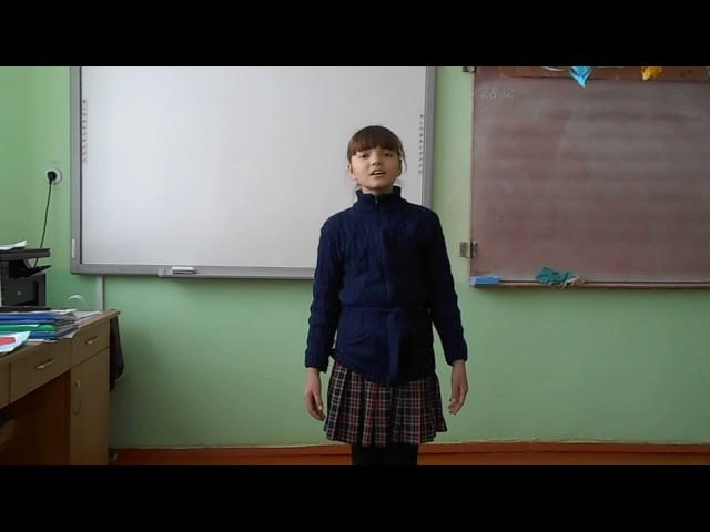 Изображение предпросмотра прочтения – ДианаВасильева читает произведение «Ворона и Лисица» И.А.Крылова