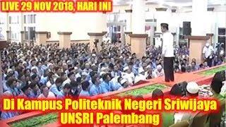 Ribuan Mahasiswa UNSRI PALEMBANG Tertawa Terus Dengar CERAMAH LUCU & CERDAS Ustadz Abdul Somad Lc.MA