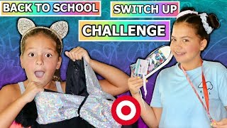 BACK TO SCHOOL BACKPACK SWITCH UP CHALLENGE TARGET EDITION  | SISTER FOREVER