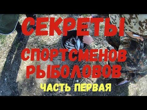 Секреты спортсменов рыболовов. Часть 1 / Fish Dream 2019.