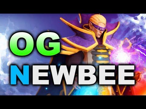 OG vs NEWBEE - Amazing Games - MDL 2017 DOTA 2