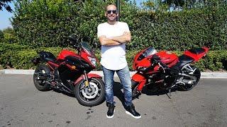Motosiklet Kullanmayı Öğreniyorum: Zehri Kaptım :)