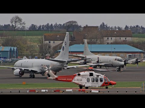 Exercise Joint Warrior JW19.1 | Glasgow Prestwick Airport | April 2019