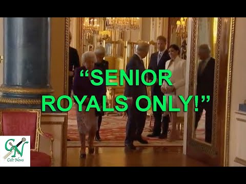 """Download PRINCE CHARLES SAYS """"STAND BACK' & WILLIAM TELLS SUSSEX'S """"SENIOR MEMBERS ONLY!'"""