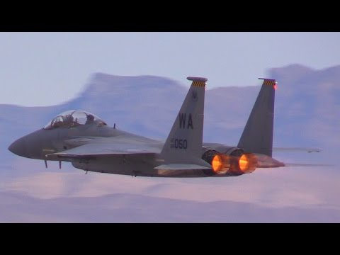 US Air Force Capabilities @ Nellis AFB Aviation Nation 2016