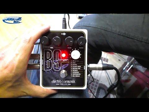 Electro Harmonix B9 Organ Simulator Guitar Pedal